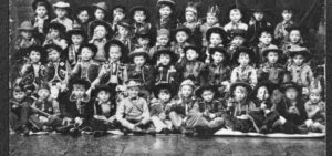 Cowboy Pupils at St Patrick's in the 1950s