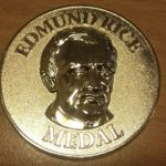 FIRST RECIPIENT OF THE EDMUND RICE MEDAL