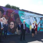 MINISTER WEIR VISITS ALL SAINTS COLLEGE